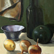 Green Still-life Art Print