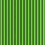 Green Striped Pattern Design Art Print