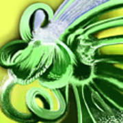 Green Valley Art Print