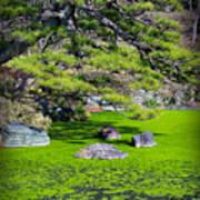 Green Winter Art Print