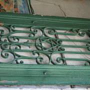 green with envy Jerusalem Art Print