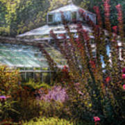 Greenhouse - The Greenhouse Art Print