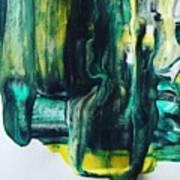 Greenish Art Print