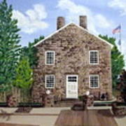 Greensburg Kentucky Courthouse Art Print