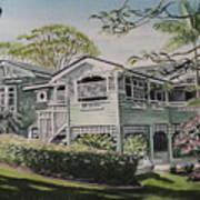 Greenslopes Hill Art Print