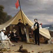 Greenwich Boat Club Art Print