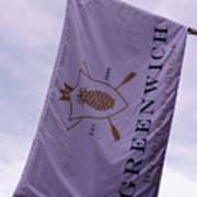 Greenwich Flag Art Print