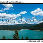Greeting Cards - Set Me Free In Mt Art Print