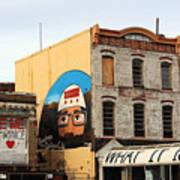 Greetings From Dystopia City -- Washington D C Art Print