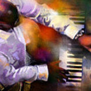 Greg Phillinganes From Toto Art Print