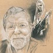 Gregg Allman Art Print