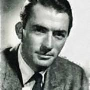 Gregory Peck Hollywood Actor Art Print