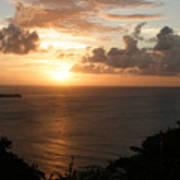 Grenadian Sunset I Art Print