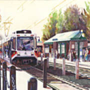 Gresham Station Art Print