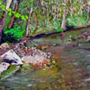 Gressy Creek Art Print