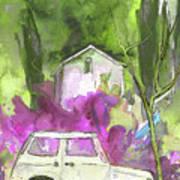 Greve In Chianti In Italy 02 Art Print by Miki De Goodaboom