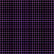 Grid Boxes In Black 30-p0171 Art Print