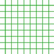 Grid Boxes In White 09-p0171 Art Print