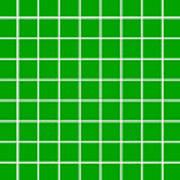 Grid In White 09-p0171 Art Print