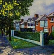 Griffith Avenue Dublin  Art Print