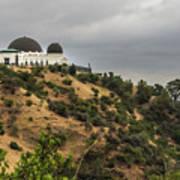 Griffith Park Observatory Art Print