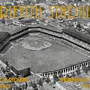 Griffith Stadium Art Print