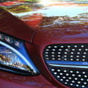 Grille  And Headlight  Art Print