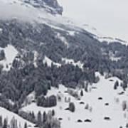 Grindelwald In Winter 3 Art Print