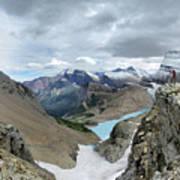Grinnell Glacier Overlook - Glacier National Park Art Print