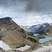 Grinnell Glacier Overlook Vista - Glacier National Park Art Print
