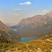 Grinnell Glacier Trail Glacier National Park Art Print
