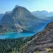 Grinnell Lake - Many Glacier Art Print
