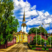 Gripsholm Church Art Print