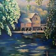 Grist Mill 2 Art Print