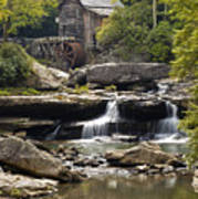 Grist Mill No. 1 Art Print