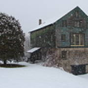 Grist Mill Of Port Hope Art Print
