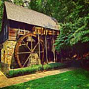 Gristmill - Charlottesville Virginia Art Print