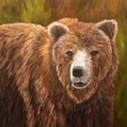 Grizzley Art Print