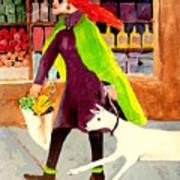 Grocery Run Art Print