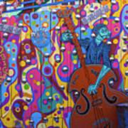 Groovy Music Art Print