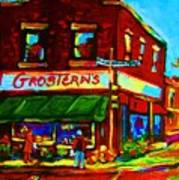 Grosterns Market Art Print