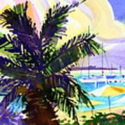 Grotto Bay Art Print