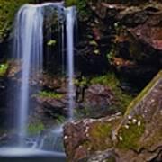 Grotto Falls Art Print
