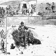 Grouse Hunting, 1887 Art Print