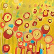 Growing In Yellow No 2 Art Print