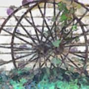 Growing Wheels Art Print