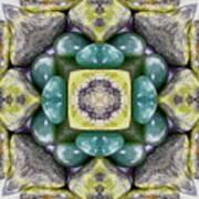 Grren Stones Art Print