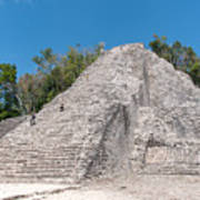 Grupo Nohoch Mul At The Coba Ruins  Art Print
