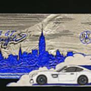 Gt Graffiti Nyc Art Print by Edward Fuller