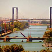 Guadalquivir River Art Print